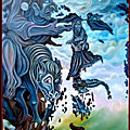 Cette toile, ...hubert reeves est exposée jusqu'au dimanche 03 décembre à l'eden (cinéma) romilly sur seine (10)....