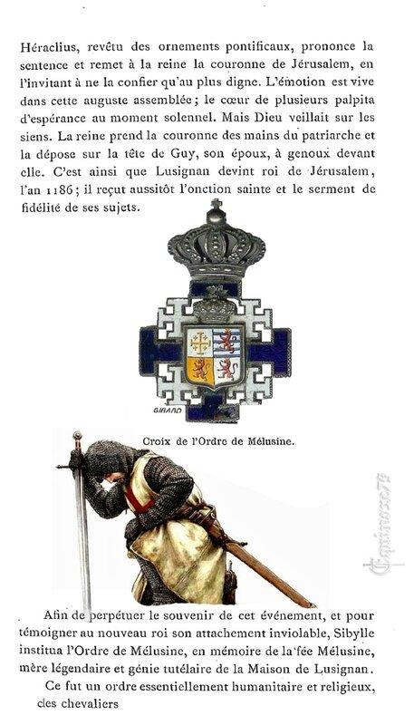 Ordre de Mélusine – Chevalerie d'Honneur de la Maison Lusignan