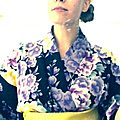 Folded in a yukata