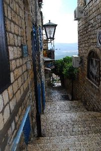 streets-of-safed-israel
