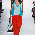 Corail & Turquoise ... Diane Von Furstenberg Summer 13