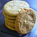 Cookies matcha/chocolat blanc
