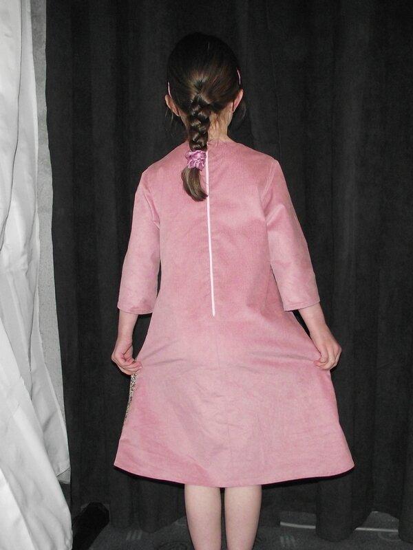 Louisa Dress Compagnie M 1000raies rose 2
