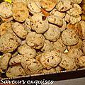 Biscuits à la cardamome et au sucre candi
