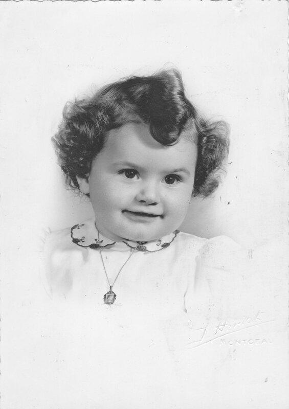 Bernadette bébé