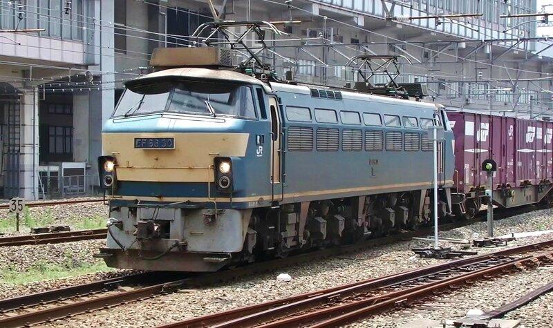 EF66 30 Okayama