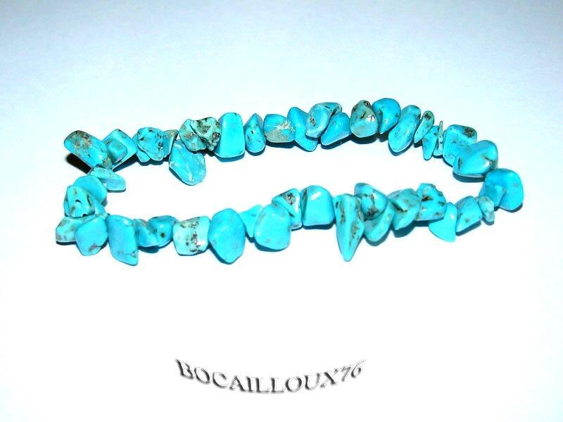 Bracelet HOWLITE Turquoise 5 (2)