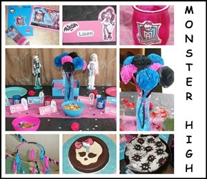 Anniversaire Monster High