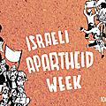 Israeli apartheid week 2017