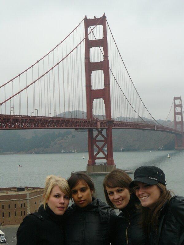 San Francisco : Alizée, Rhama, Amandine, Tania