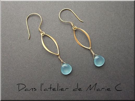 BO_ovales_or_briolettes_lisses_chalc_doine_bleue