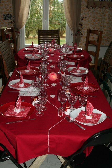 Decoration decoration noel rouge et blanc 1000 id es for Decoration table de noel rouge et blanc