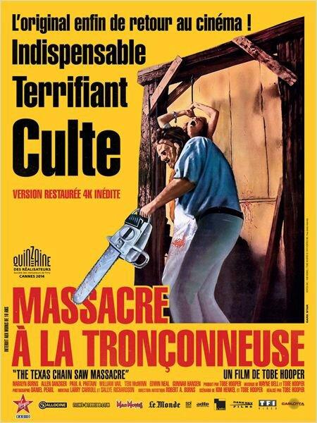 Massacre à la tronçonneuse (affiche 40 ans)