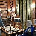 Le château de breteuil retrouve son salon des jeux et sa bibliothèque louis xviii