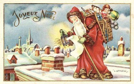 CPA Père-Noël 4