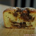 Cake  la banane coeur de figues, sans bl