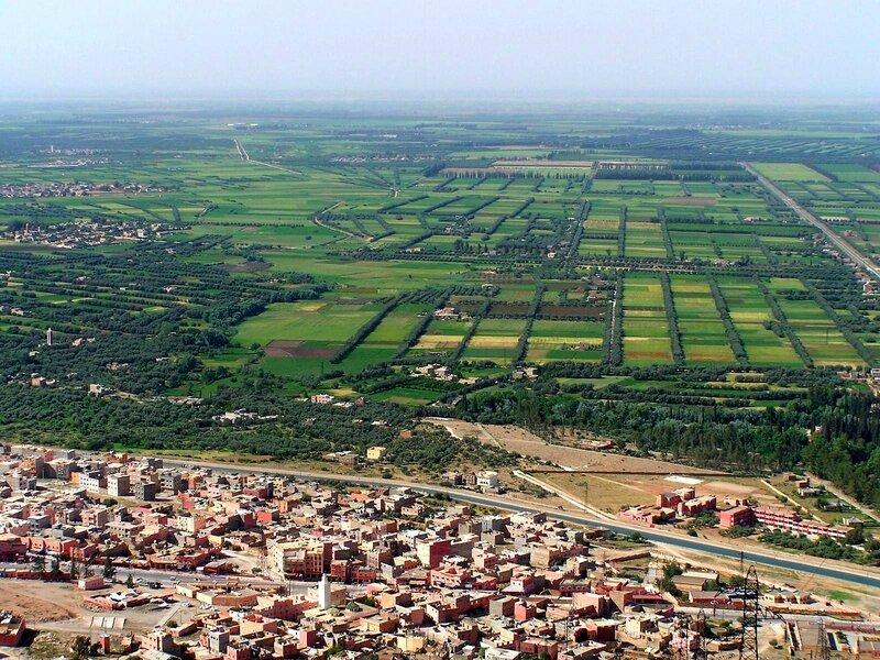 Afourer et la plaine du Tadla