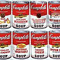 POP ART 1962_Campbell's cans_Andy Warhol