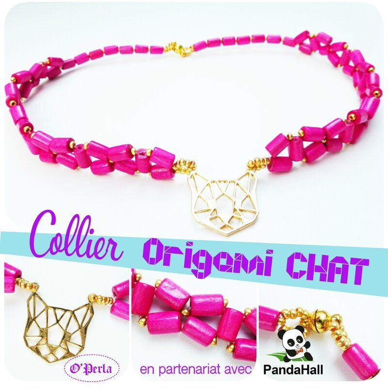 montage collier chatROSE