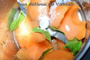 recette avec le thermomix - dessert - été - fruit