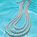 An exceptional natural pearl and diamond necklace, by paspaley