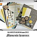 Kit multi*albums de mars (2ème version)