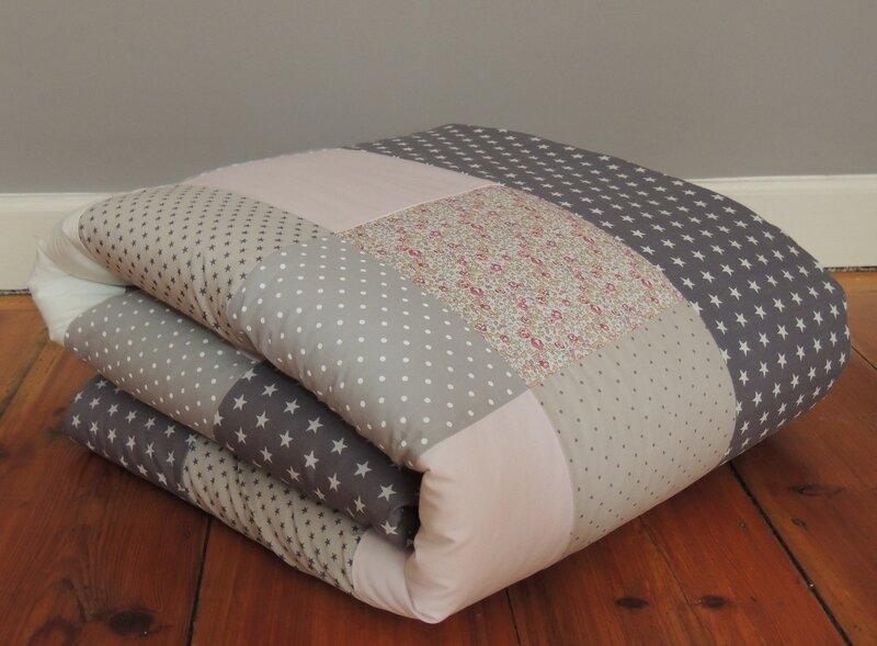 plaid pois toiles liberty confection sur demeure des anges. Black Bedroom Furniture Sets. Home Design Ideas