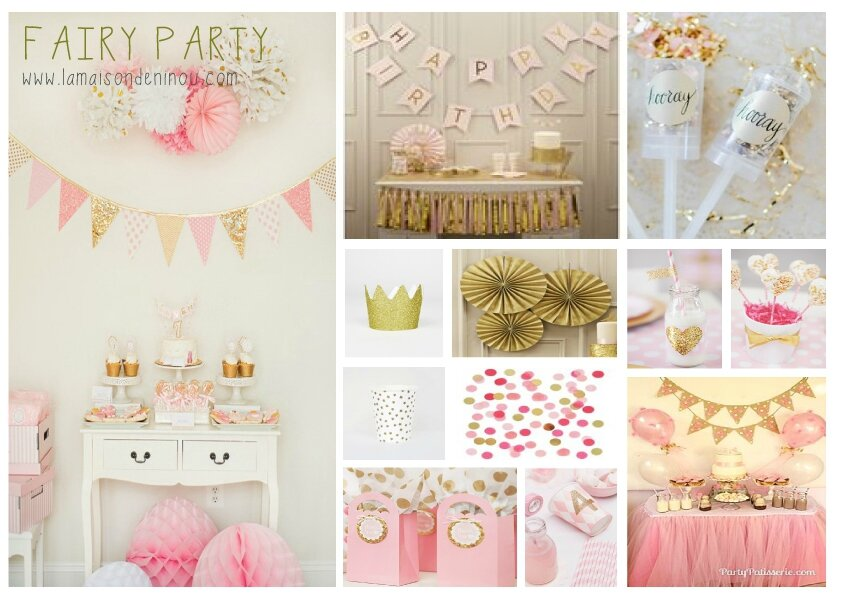 inspirations anniversaire enfant 2015 1 fairy party le blog de la maison de ninou. Black Bedroom Furniture Sets. Home Design Ideas