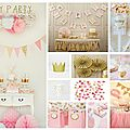 Inspirations anniversaire enfant 2015 #1 : fairy party !