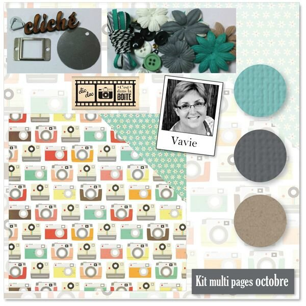 Kit multi-pages octobre 2015 Variations Créatives