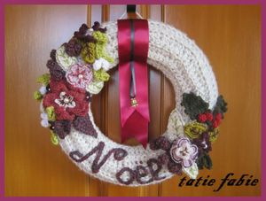 couronne au crochet blog