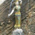Statue, temple LP