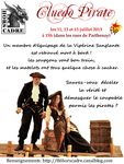affiche cluedo pirate 2 - red