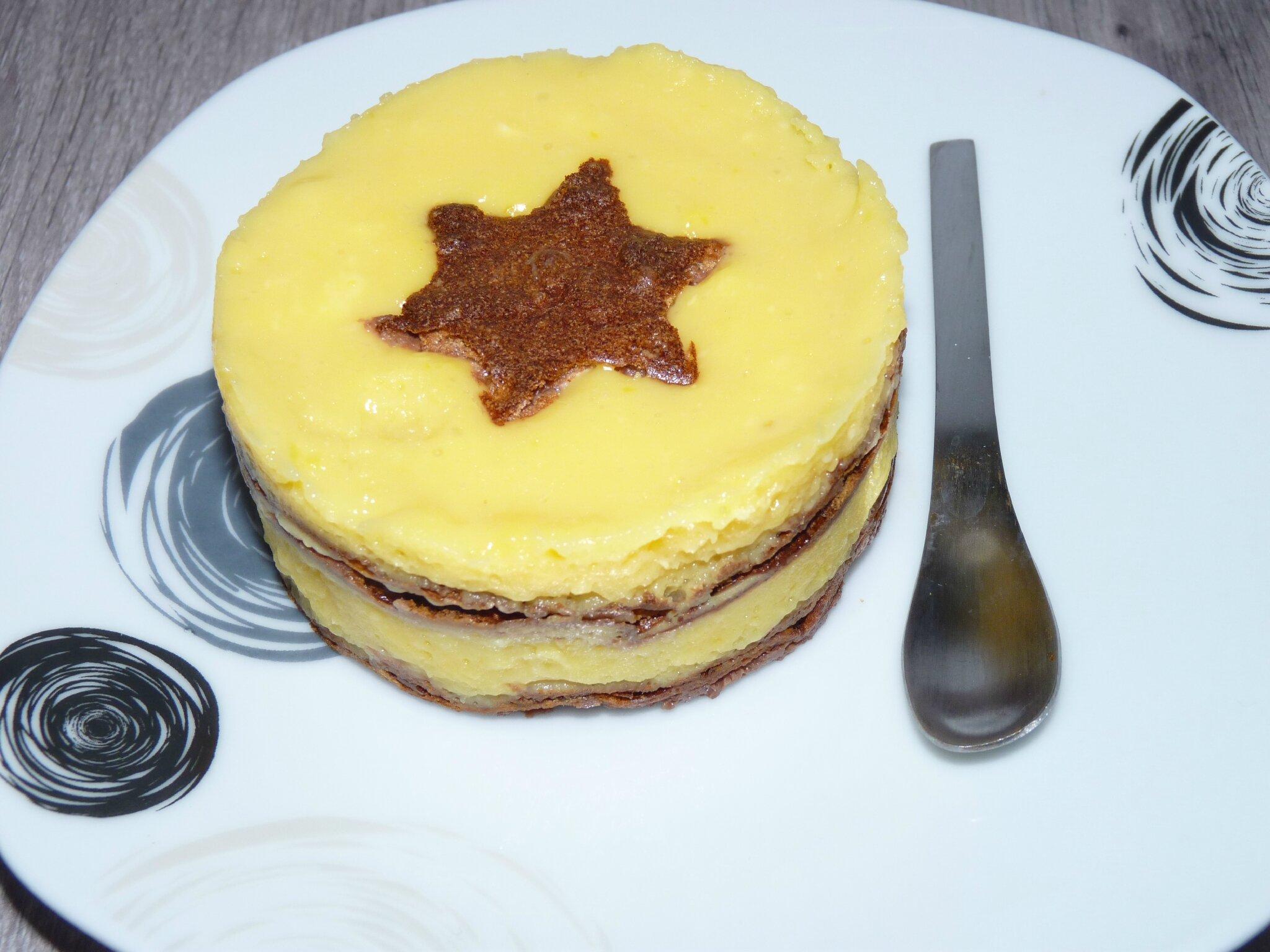 Gateau citron et chocolat