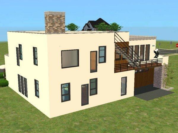 Exemple maison moderne maison moderne exemple plan for Modele maison minecraft