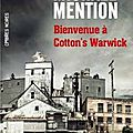 Bienvenue à cotton's warwick de michaël mention