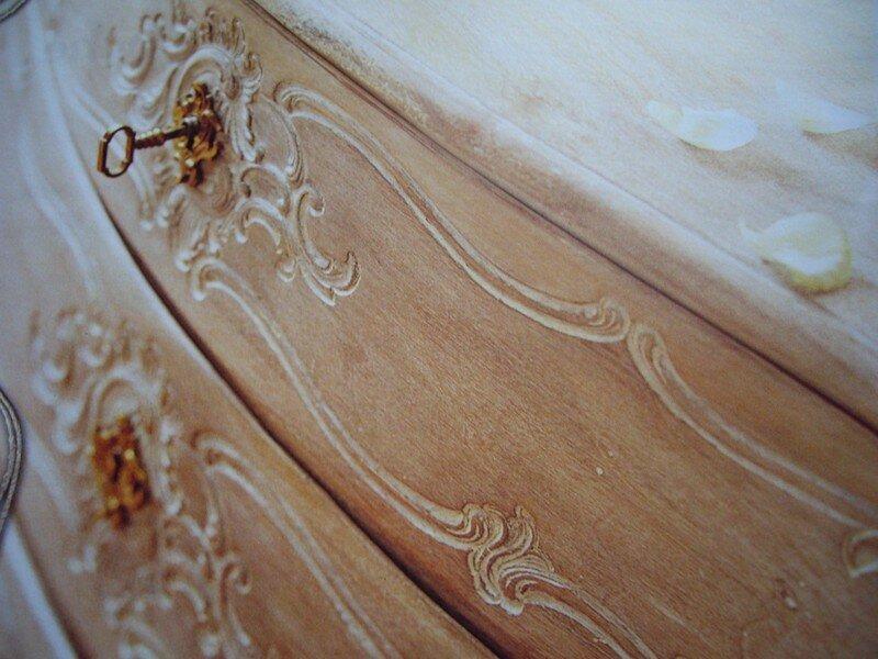 Ceruse blanche et peinture l 39 ancienne d cosanges for Peinture a l ancienne