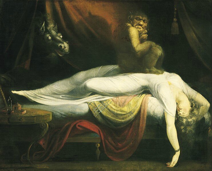 The Nightmare - 1781 - Johann Heinrich Füssli