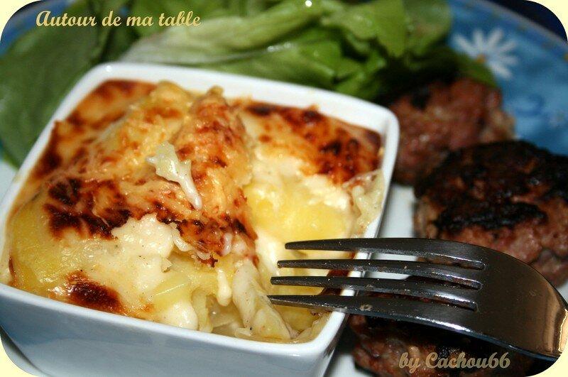 Gratin de pommes de terre individuel autour de ma table - Pomme de terre pour gratin ...