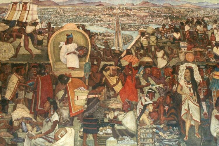 View_from_Tlatelolco_before_conquest_Diego_Rivera