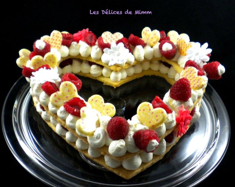 Heart cake pour la Saint-Valentin3