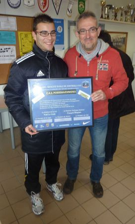 Label Bronze Ecole de foot