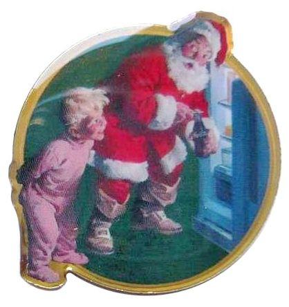Pin's Père-Noël 6R