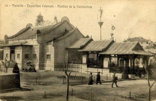 08. Exposition Coloniale Marseille 1906 Pavillon de la Cochinch