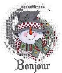 """Résultat de recherche d'images pour """"gif bonjour bonhomme de neige"""""""