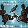 Chocolats de paques maison