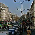 Sur le bd Bonne Nouvelle côté 2ème arrondissement.