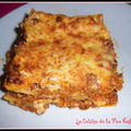 Lasagnes bolognaise  la bchamel de ricotta