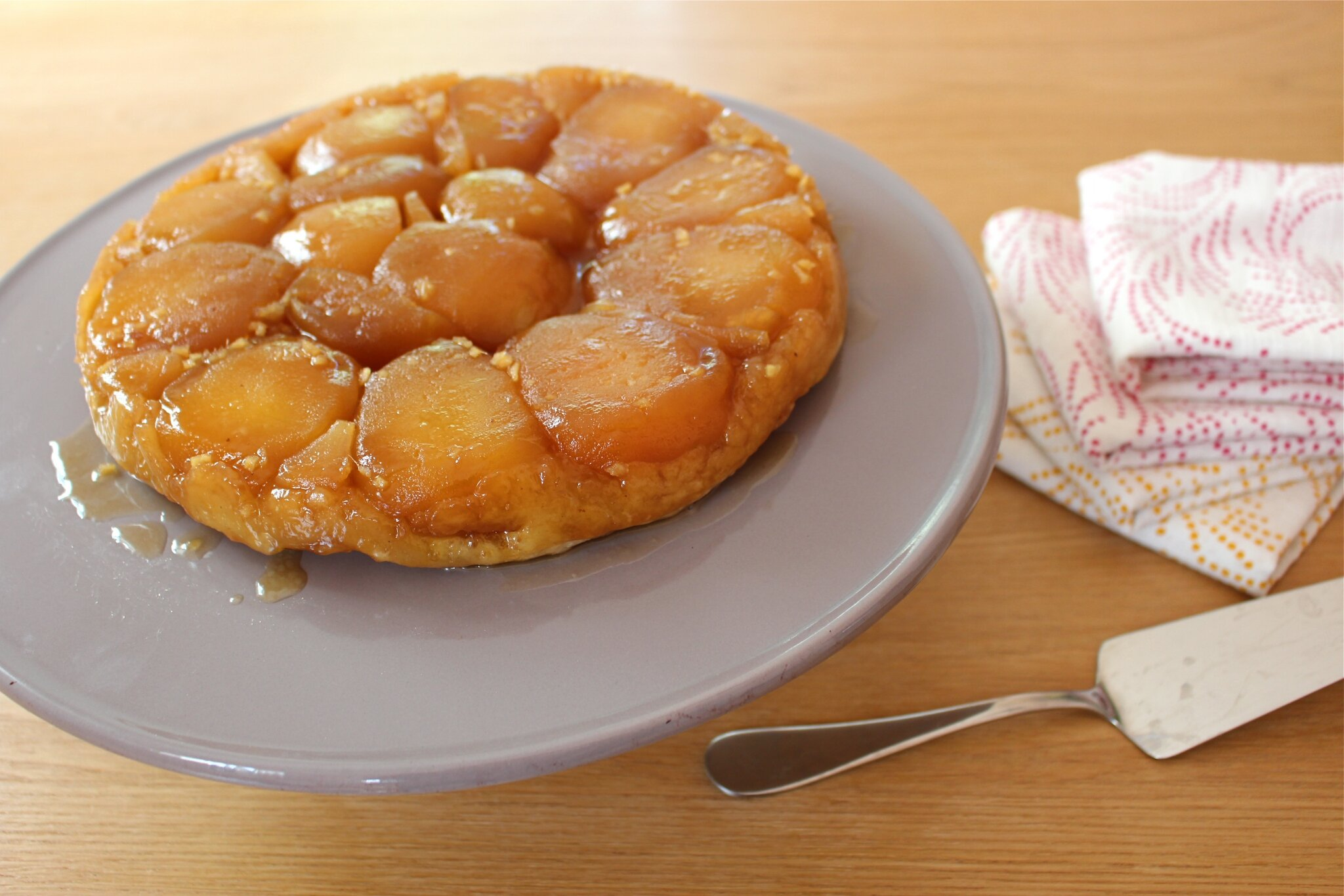 Tatin pommes-gingembre