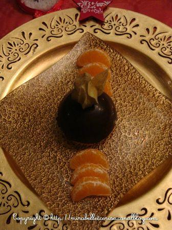 dessert noel